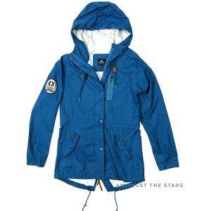 Holden Fishtail Blue Windbreaker Rain Jacket
